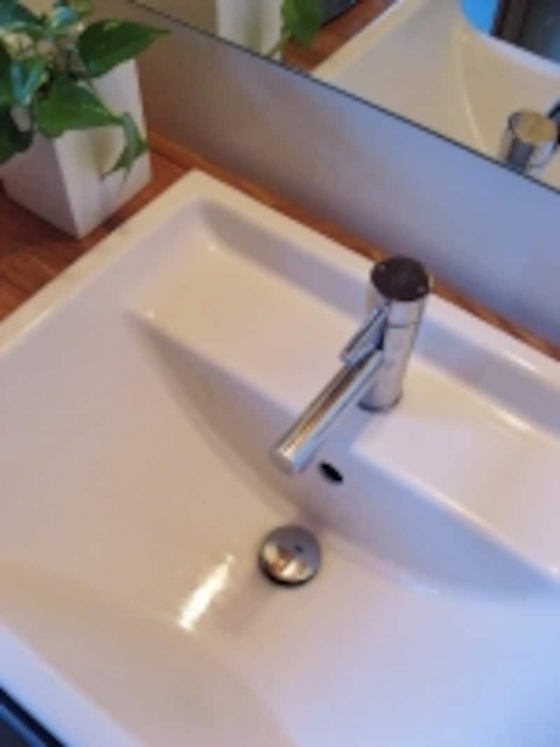 水栓金具や排水口などの不具合がないかを確認したい