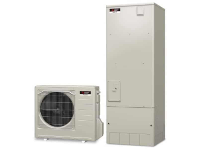三菱HEMSとの接続による太陽光発電システムとの連携運転なども。[三菱エコキュート「Sシリーズ」] 三菱電機