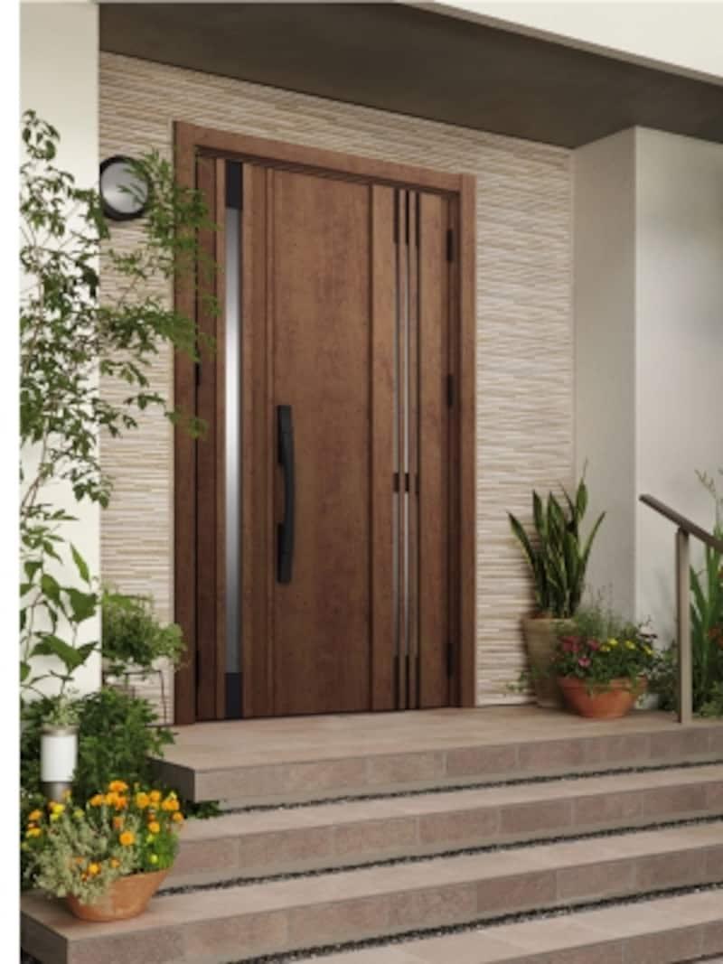 既存の枠の上に新しいドアを枠ごと取り付けるため1日で完成し、壁や床などを傷める心配もない。undefined[リシェント玄関ドア3]undefinedLIXILundefinedhttp://www.lixil.co.jp/
