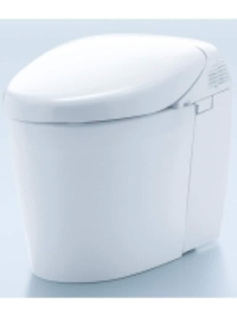 トイレ空間の気になるニオイの主成分である、アンモニアを取り込み、除菌水フィルターで捕集し脱臭。汚れを付きにくく、落としやすくする素材を採用し、掃除の手間を軽減。[ネオレストハイブリッドシリーズRHタイプ]undefinedTOTOundefinedhttp://www.toto.co.jp/