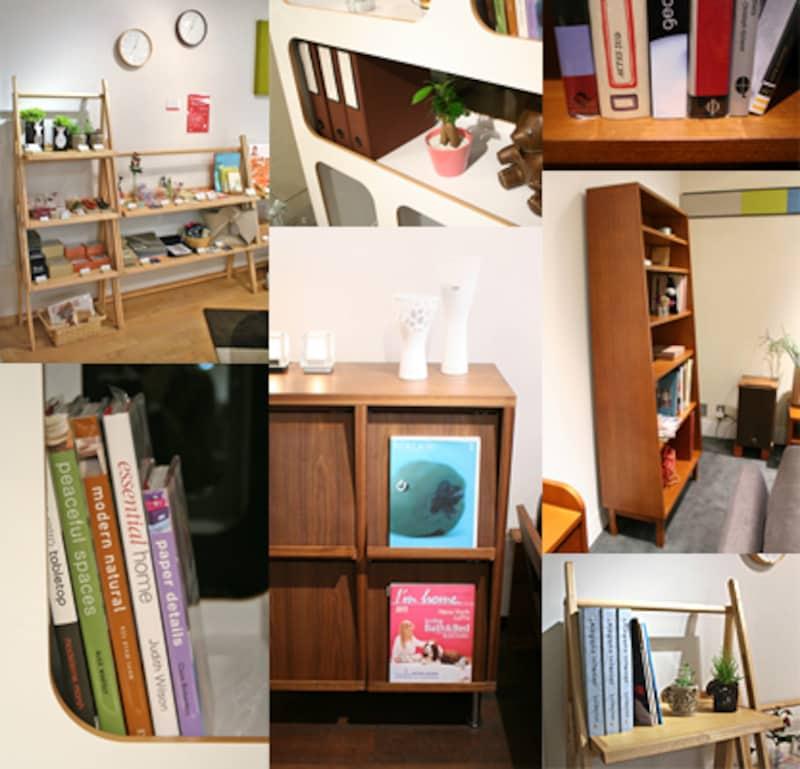 本を美しく収納する、お薦め本棚