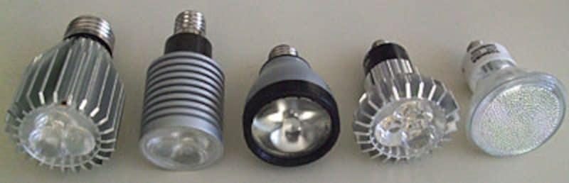 さまざまなスポットライト型LED