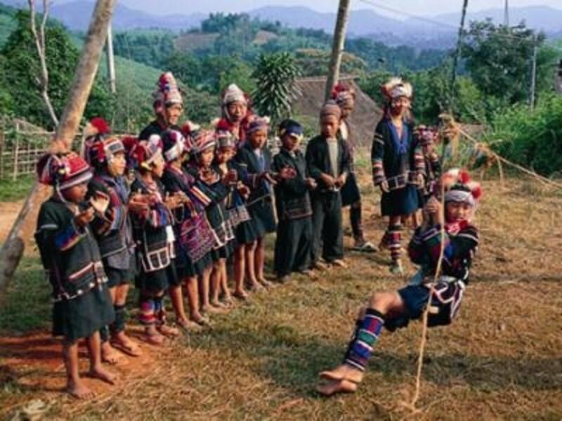 山岳民族たちは独自の言葉と文化を守りながら生活している(c)タイ政府観光庁