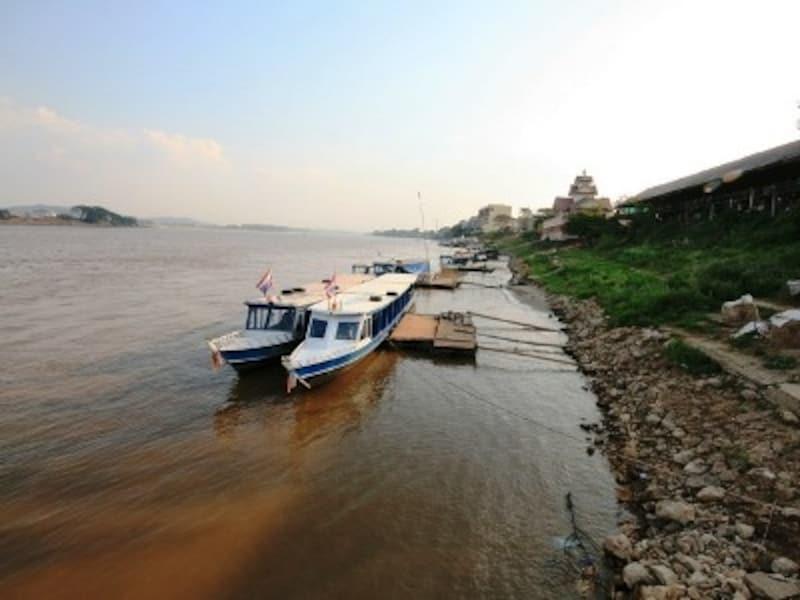 チェンライ県にはメコン河が流れており地域によっては国境の役割も担っている(c)D-MARKMAGAZINE