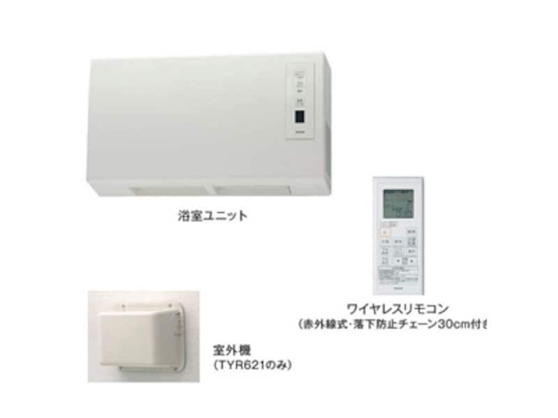在来工法向けの壁掛けタイプ。200V温風ですばやい暖房も可能。電動ルーバーで温風の送りだし方の使い分けも。[浴室換気暖房乾燥機undefined三乾王undefinedTYR600シリーズ]undefinedTOTOundefinedhttp://www.toto.co.jp/