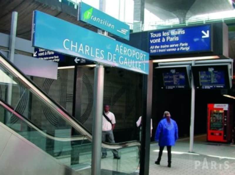 RERの車内でも油断は禁物(c)ParisTouristOffice-Photographe:AmelieDupont