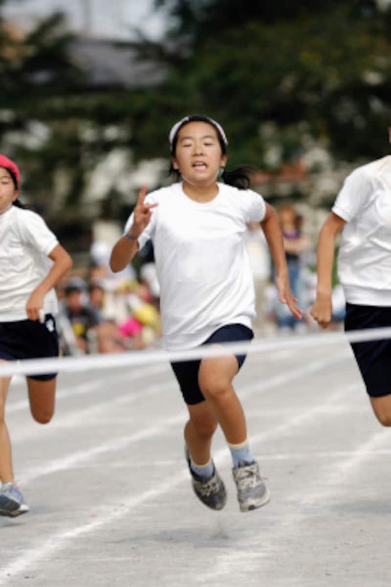 運動会かけっこ,練習のコツ