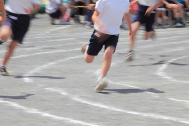 足が速くなる方法 運動会かけっこ,歩幅