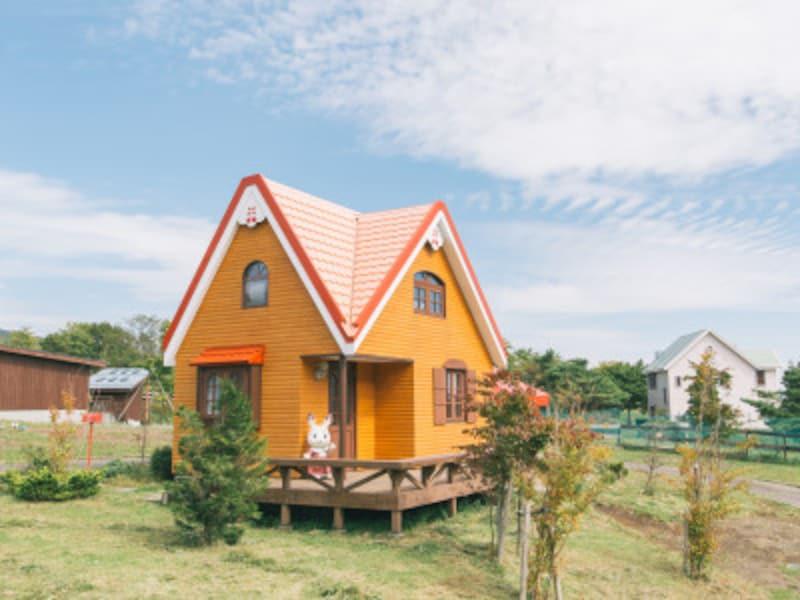秋キャンプ冬キャンプ子連れにおすすめ シルバニアファミリー「森の小さなお家」