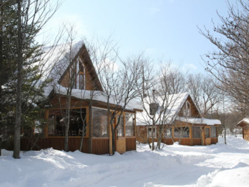 秋キャンプ冬キャンプ子連れにおすすめ 北軽井沢スウィートグラス