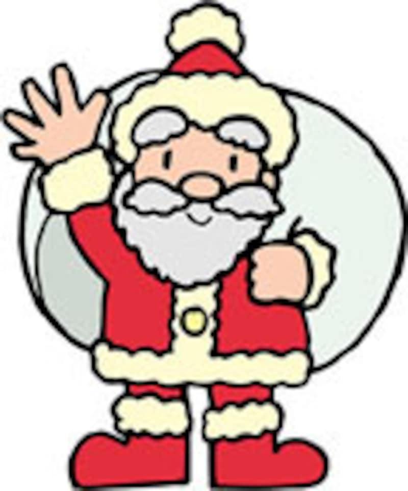 クリスマスの主役といえば、やっぱりサンタクロース!