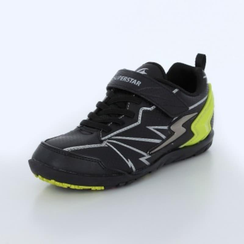 スーパースター子供靴SSJ863をはいて、運動会のかけっこで一位をめざそう。