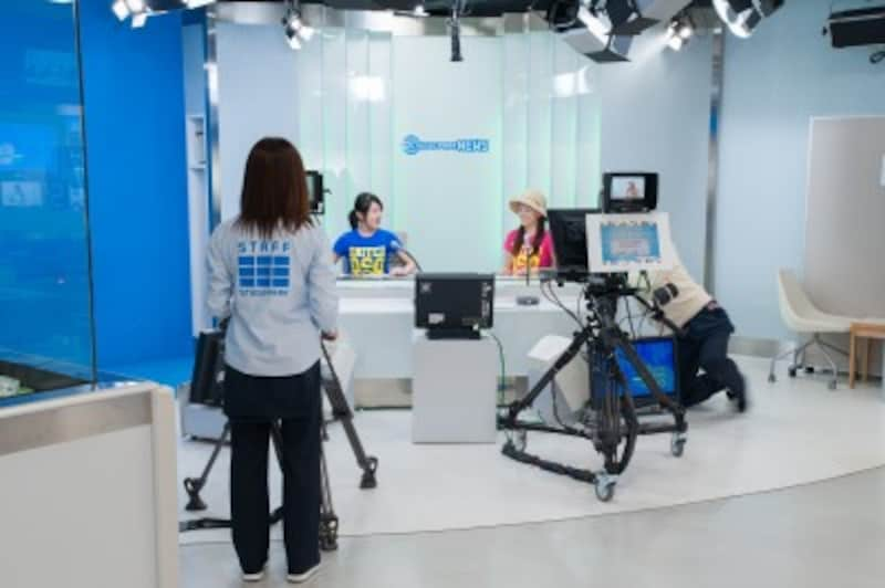 子どものお仕事体験・職業体験施設 NHKスタジオパーク