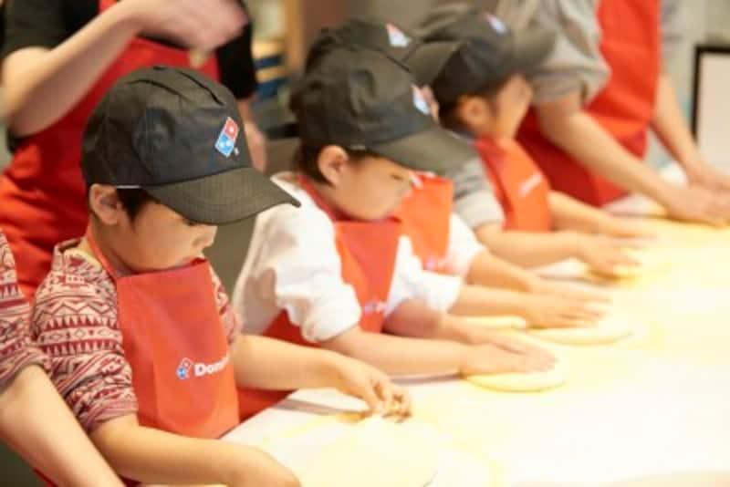 子どものお仕事体験・職業体験施設 ドミノ・ピザ