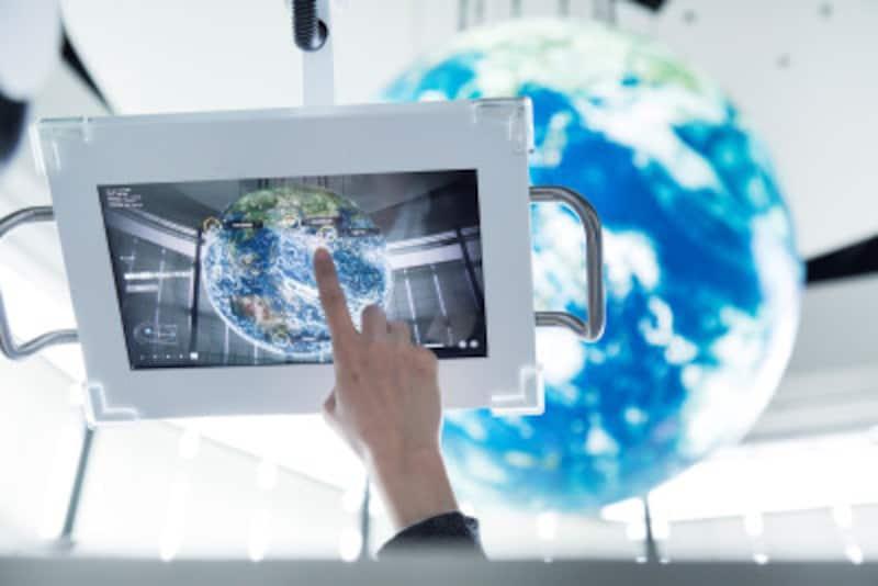 日本科学未来館「ジオ・プリズム」