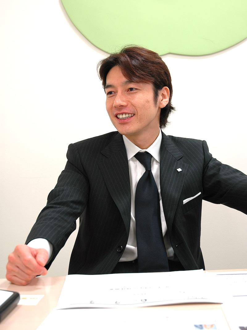 グローバルメディアオンライン 代表取締役会長兼社長 熊谷正寿氏