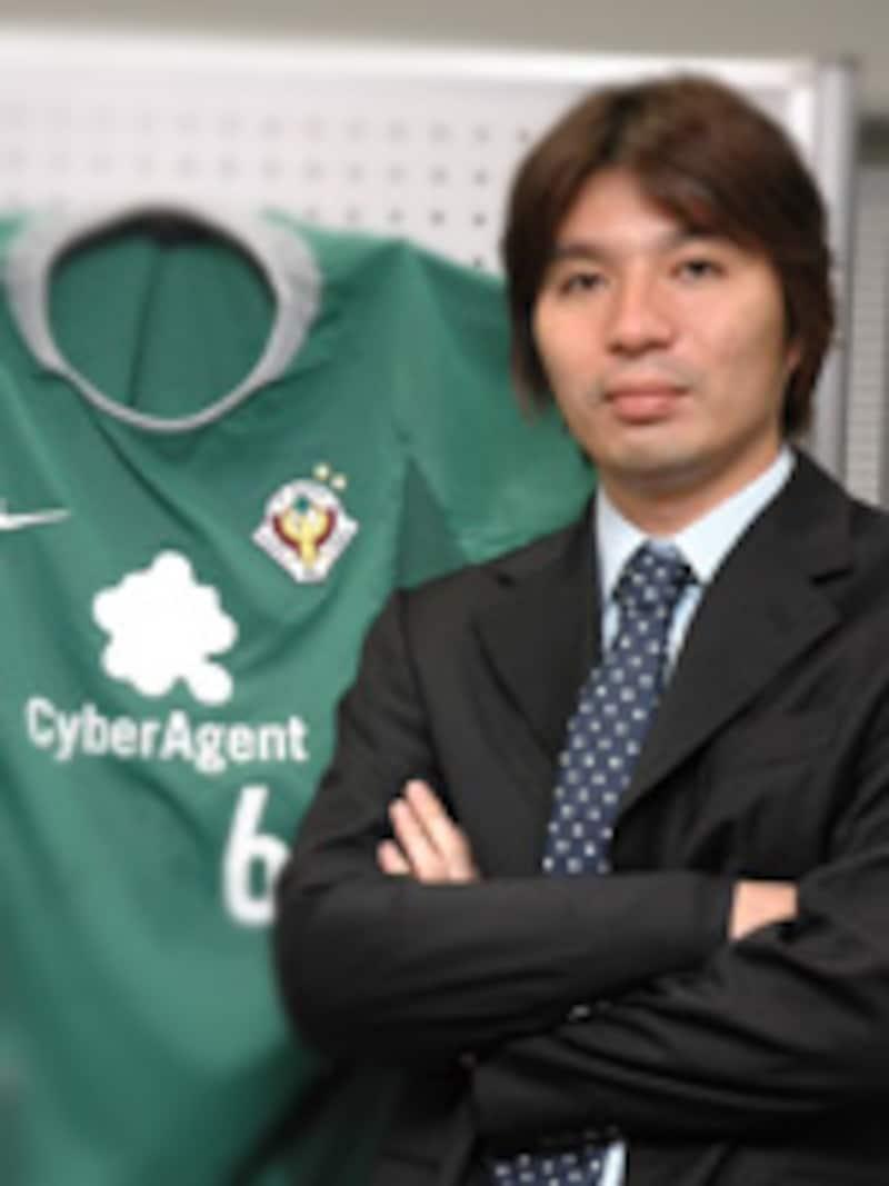サイバーエージェント代表取締役社長 藤田 晋氏