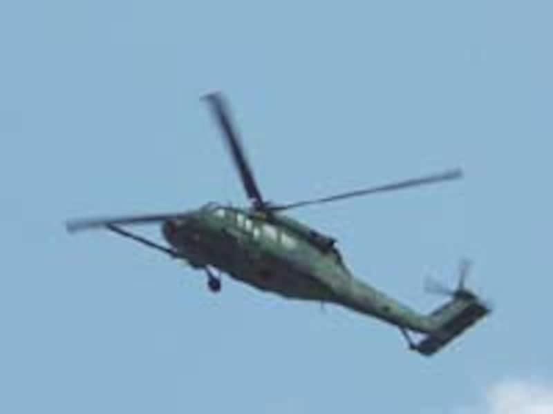 アメリカ軍ヘリ