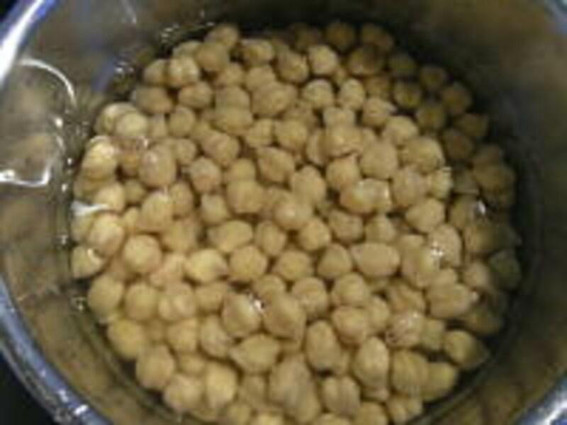 ひよこ豆の煮かた手順2