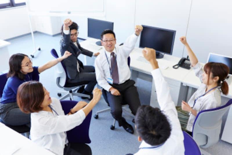 『上司としての自覚』を持ちつつ、普段から部下のことを知る努力をすればきっとチームワークの良い部署になるはず!