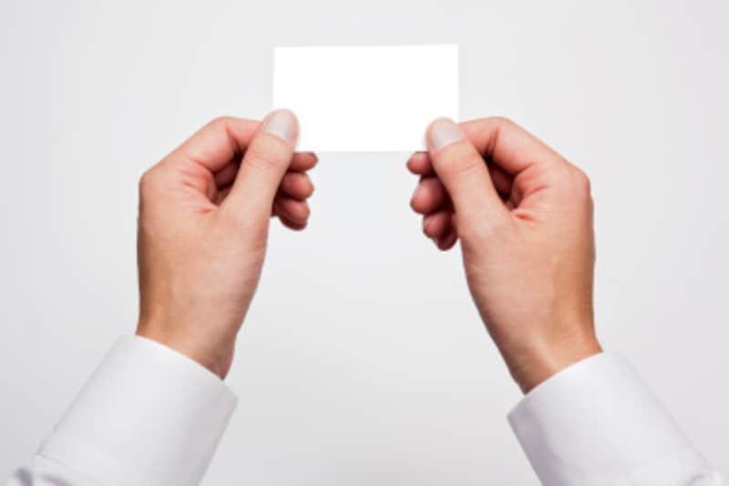 独自ドメインURLを記載しない会社の名刺