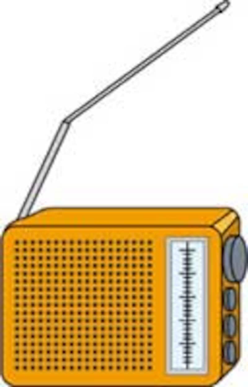 ラジオからプログラムが