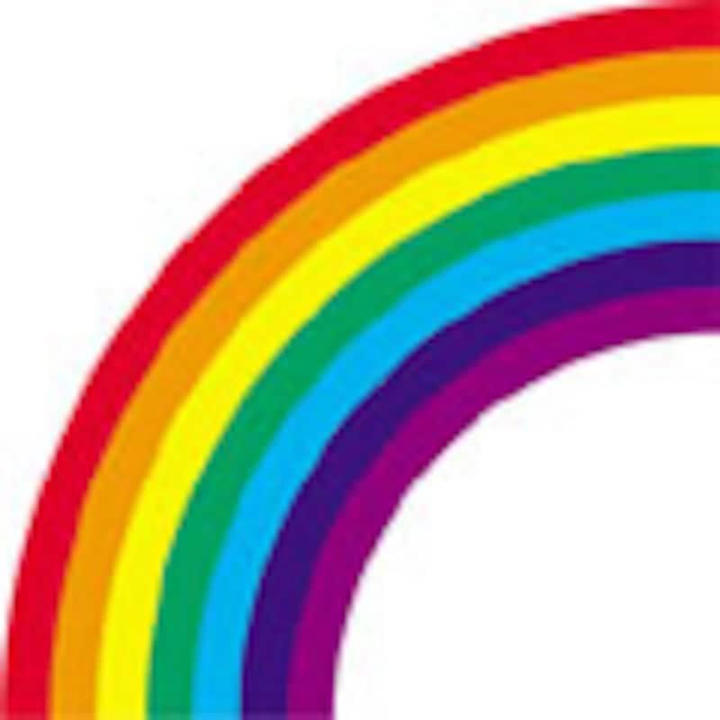 虹の色は7色じゃなかった