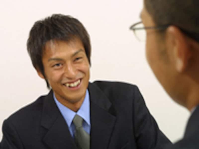 友人の笑顔