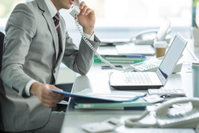 FAXの確認・携帯電話のビジネスマナー