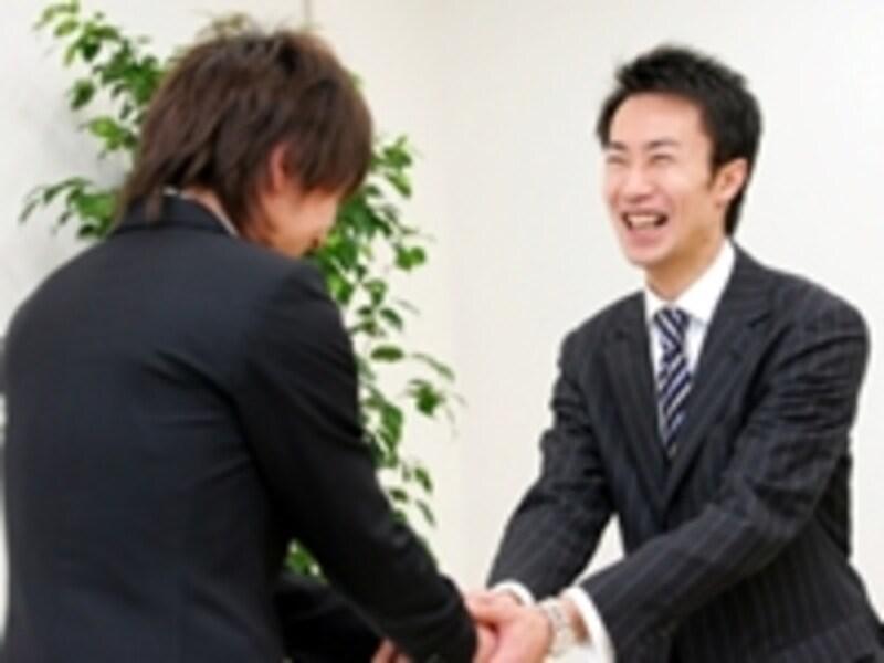 人と会うのが営業の仕事