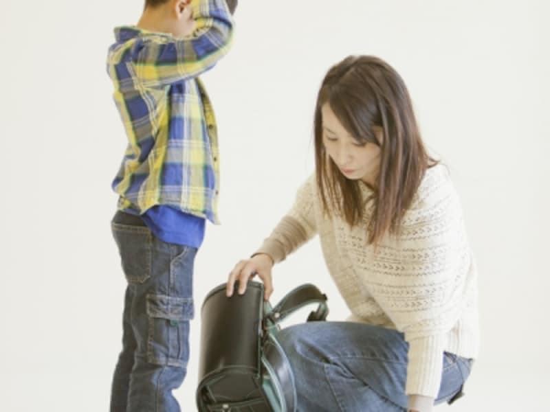 難関は持ち物管理。暫くは親も協力してあげましょう。