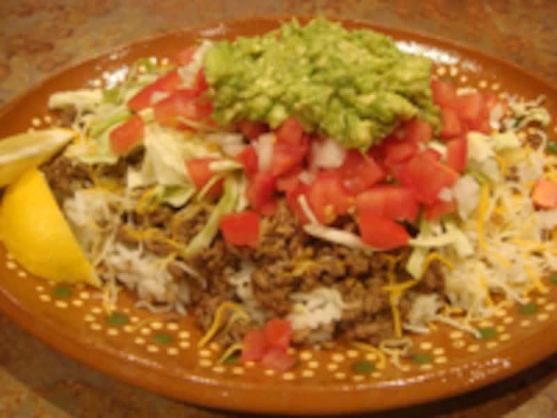 陽気なメキシコ料理
