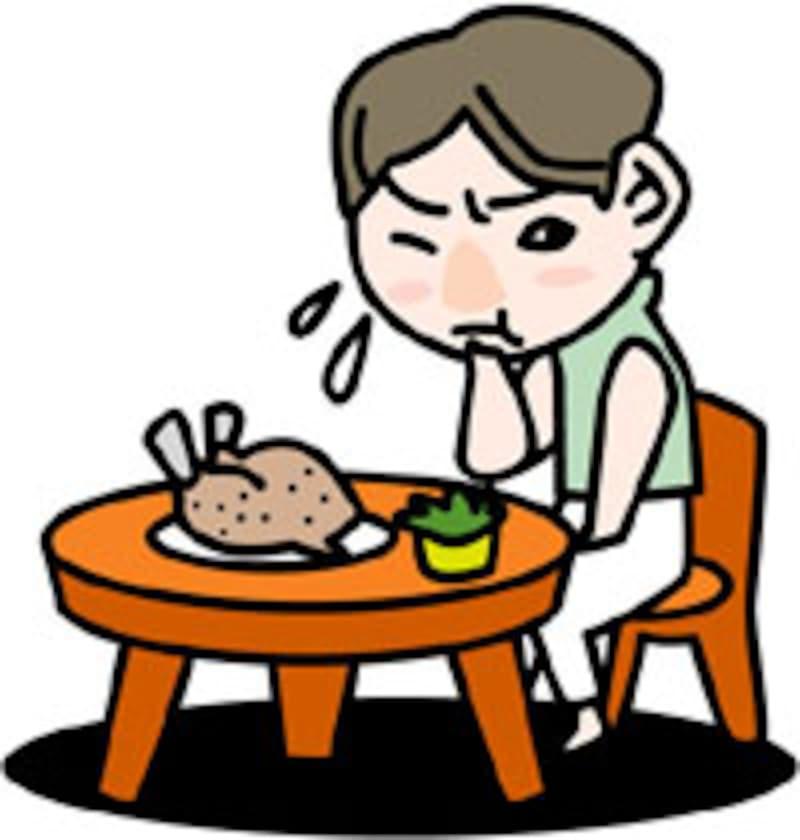 食欲の低下