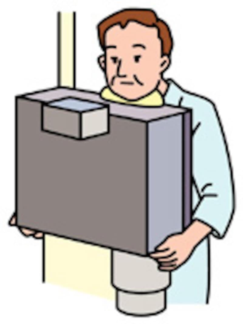 医療の現場での放射線被曝