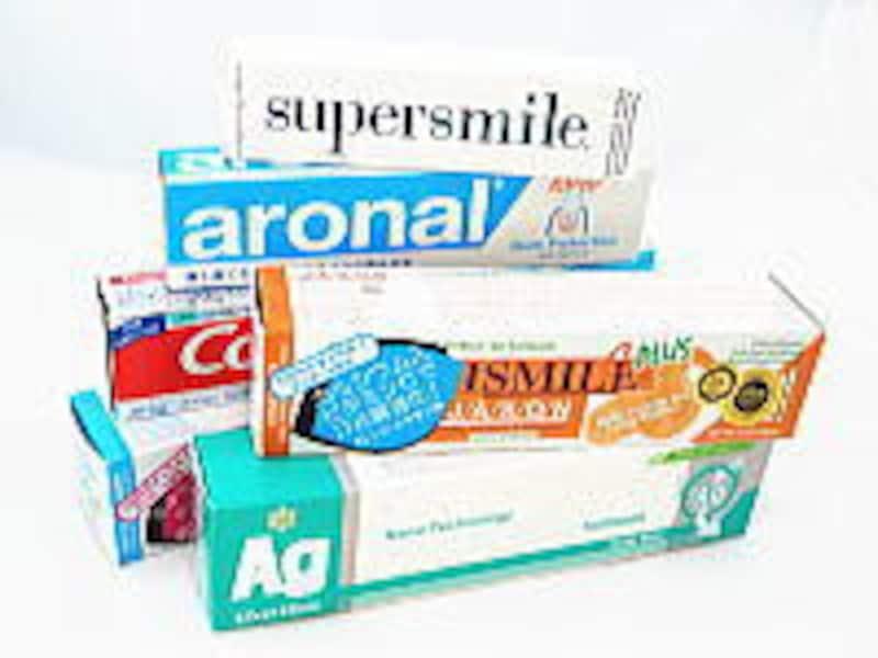 輸入されている歯磨き粉