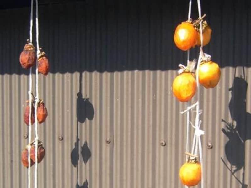 柿のヘタを利用