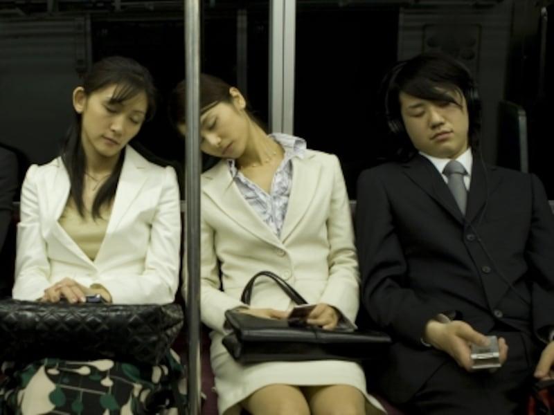 電車内の居眠り