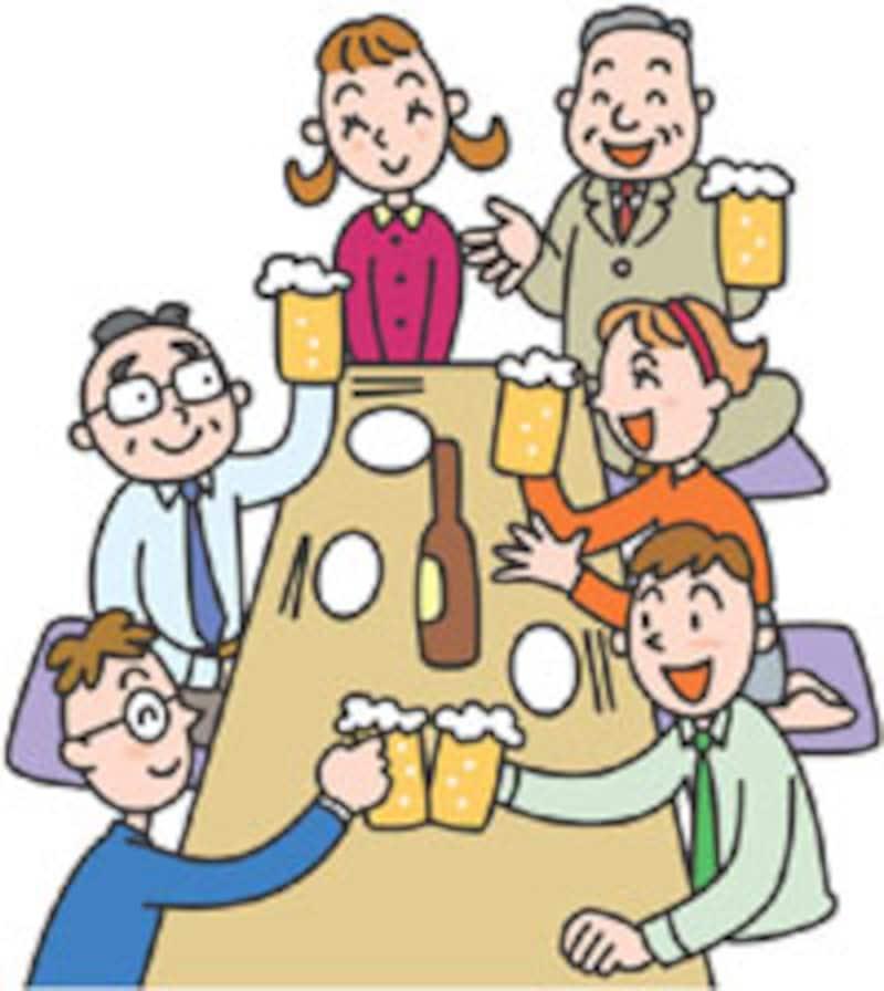 お酒を飲む機会は多いですか?