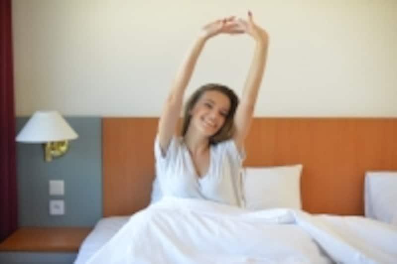 自分に合った枕で睡眠をとることができると寝覚めがスッキリします