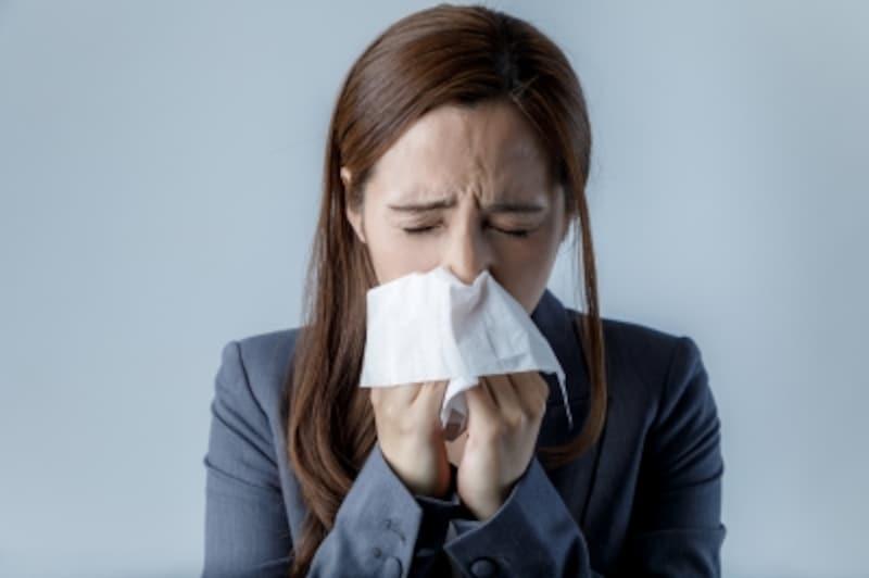 症 眠い 花粉