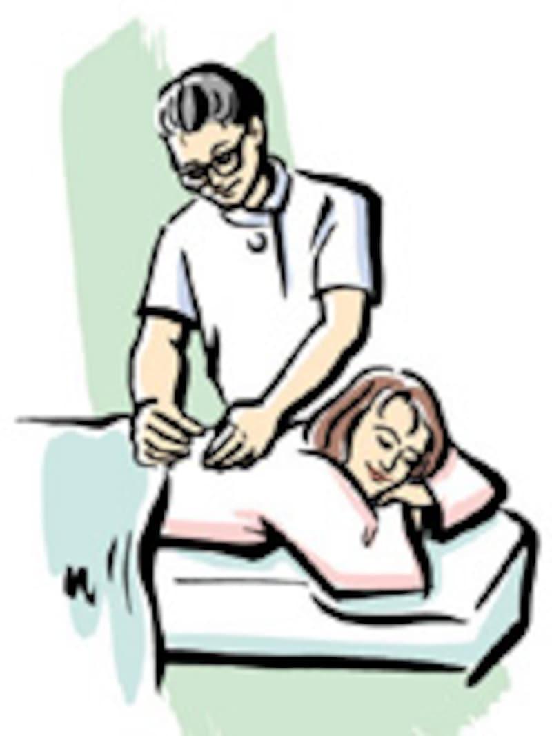 大学病院で鍼治療