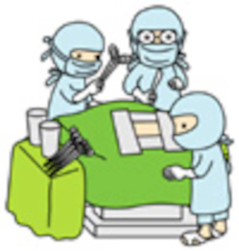 手術室の風景