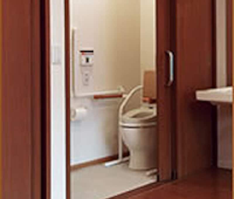 介護バリアのないトイレ