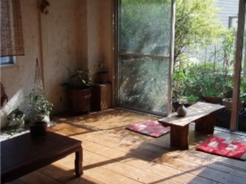 空庭カフェ
