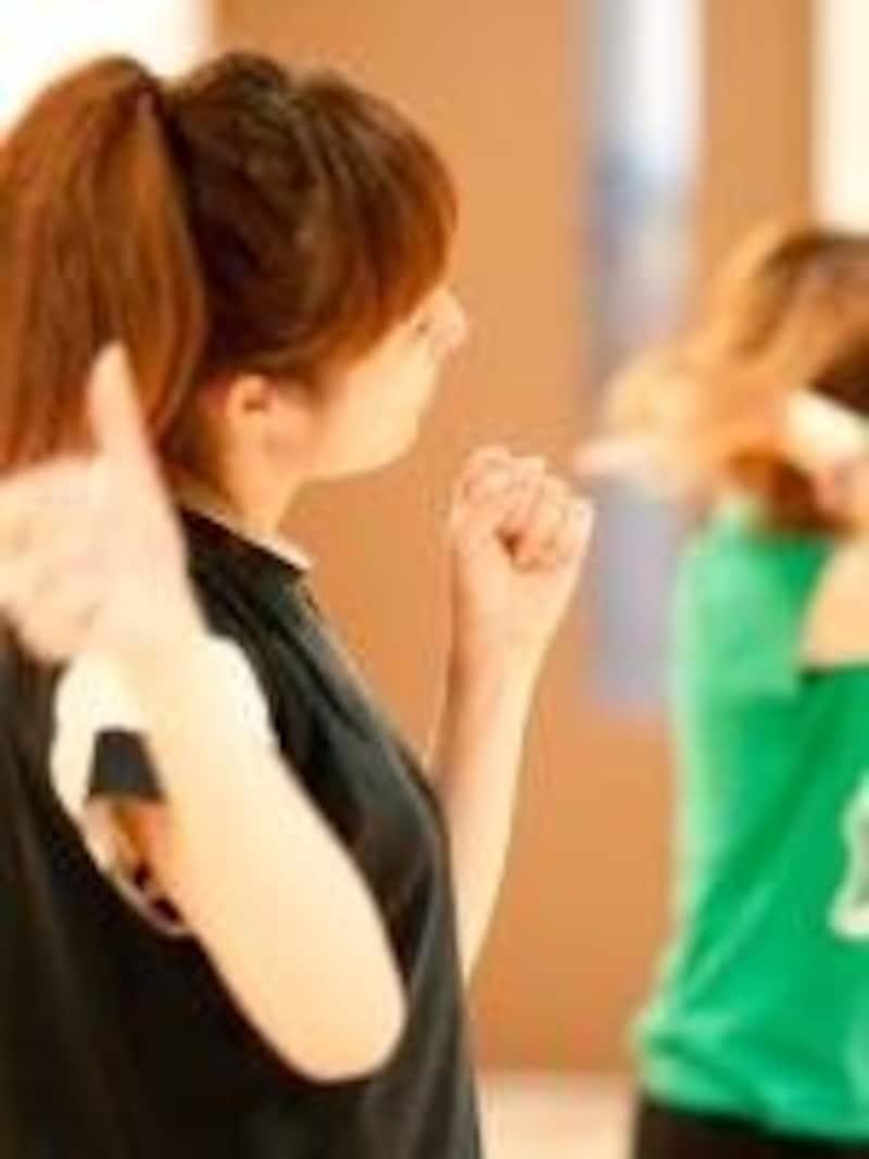 体操は一人で簡単にできる手軽な運動