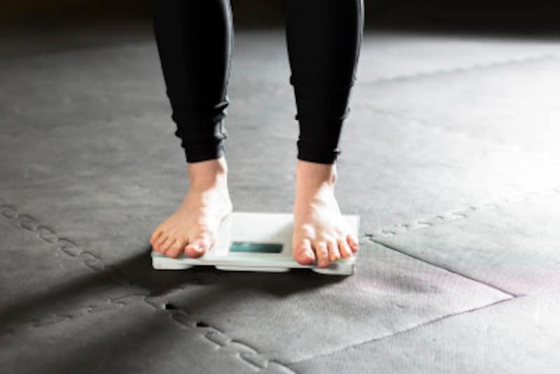 運動前後で体重をチェックしよう