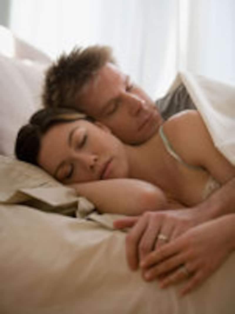 2人で熟睡