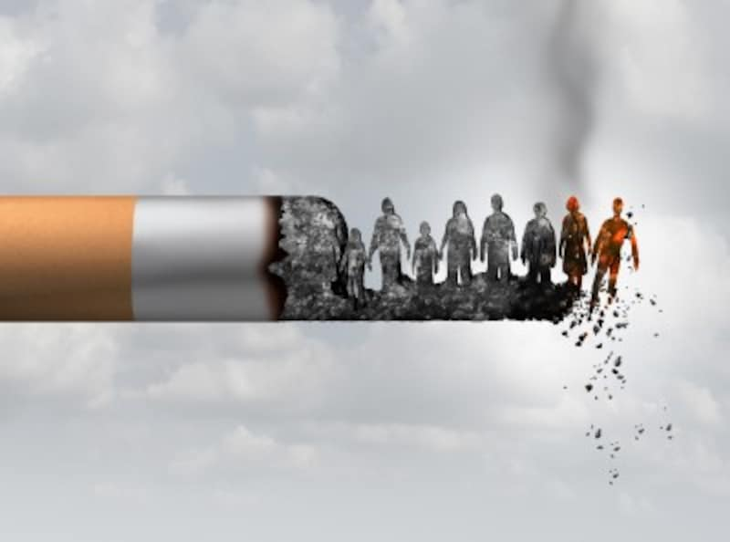 有害なタバコ
