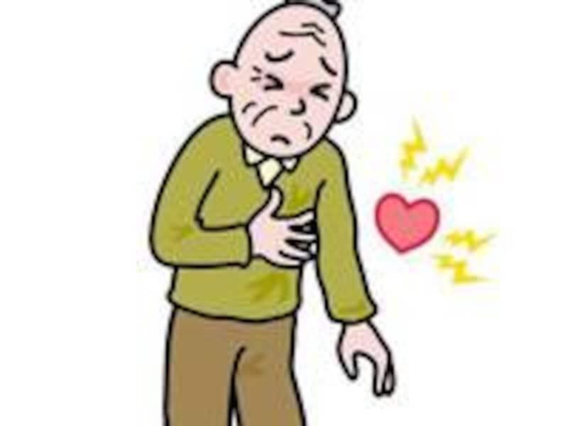 胸痛のとき、まず疑うのは心臓の病気です