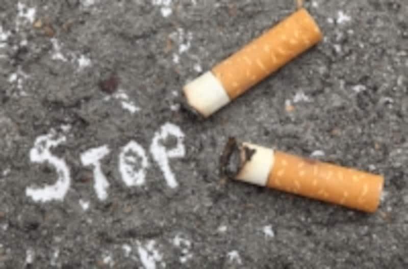 喫煙は肺癌だけでなく動脈硬化の危険も増やします。